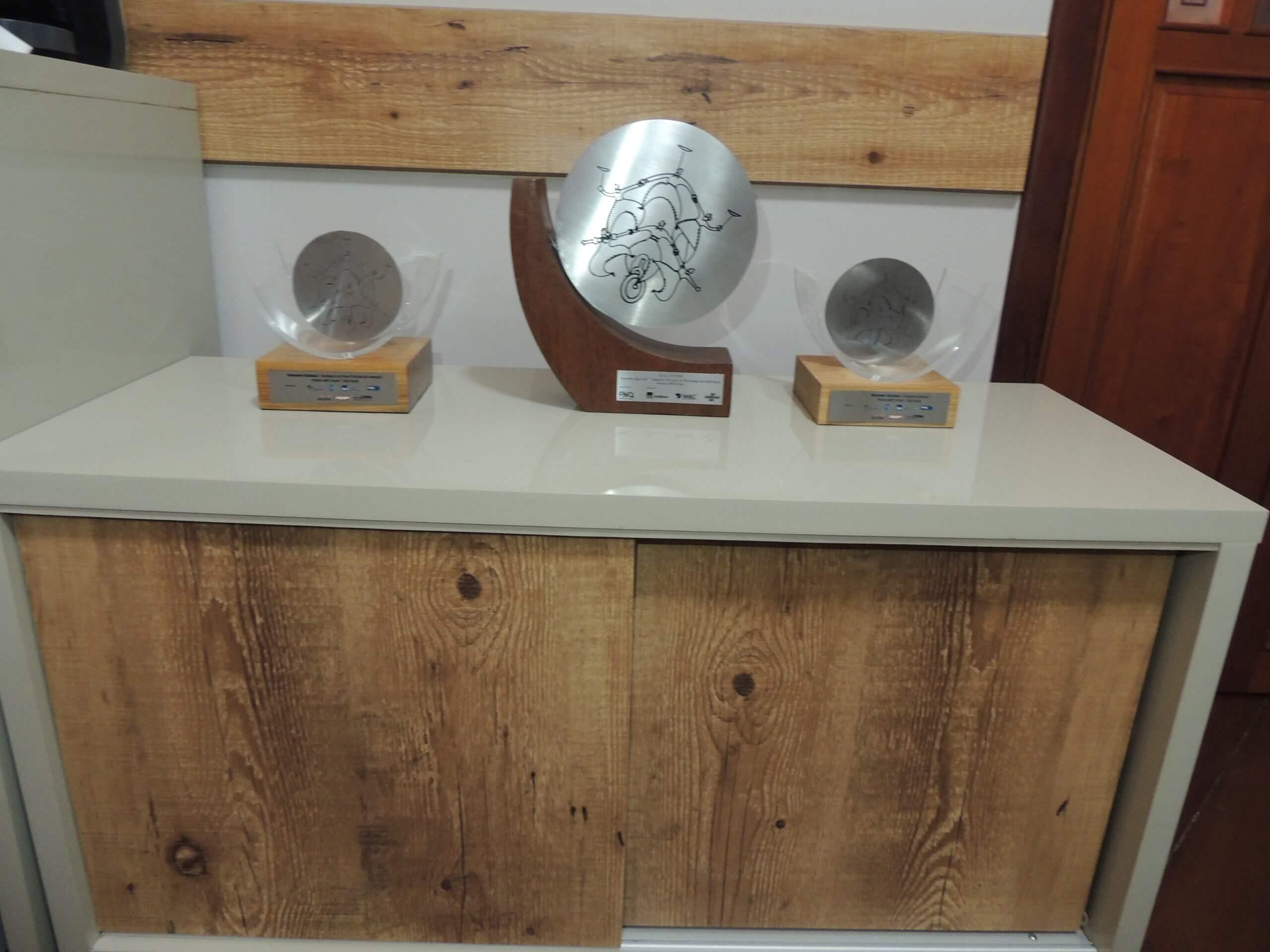 Troféus da empresa