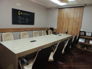 Sala da empresa