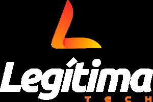 Logo Legítima tech branco